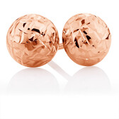 7mm Stud Earrings in 10ct Rose Gold