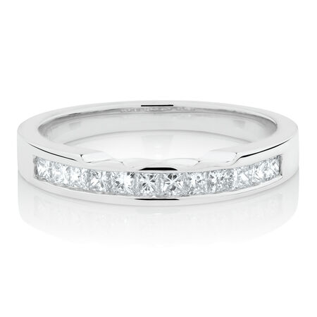 Online Exclusive - Ring with 0.40 Carat TW of Diamonds in 18ct White Gold