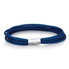 "Blue Mesh Multi Strand 19cm (7.5"") Wild Hearts Bracelet"