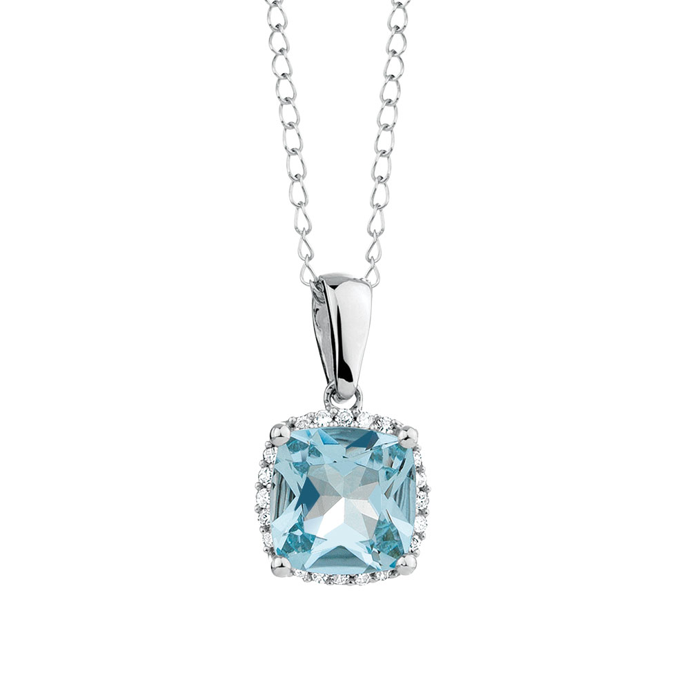 products jason large aquamarine aqua jewelry pendant marine wayne