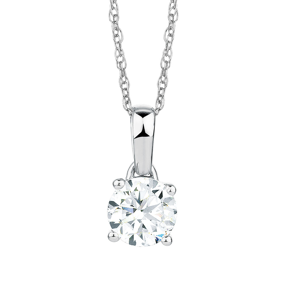 solitare orogem en solitaire pendant product necklace diamond