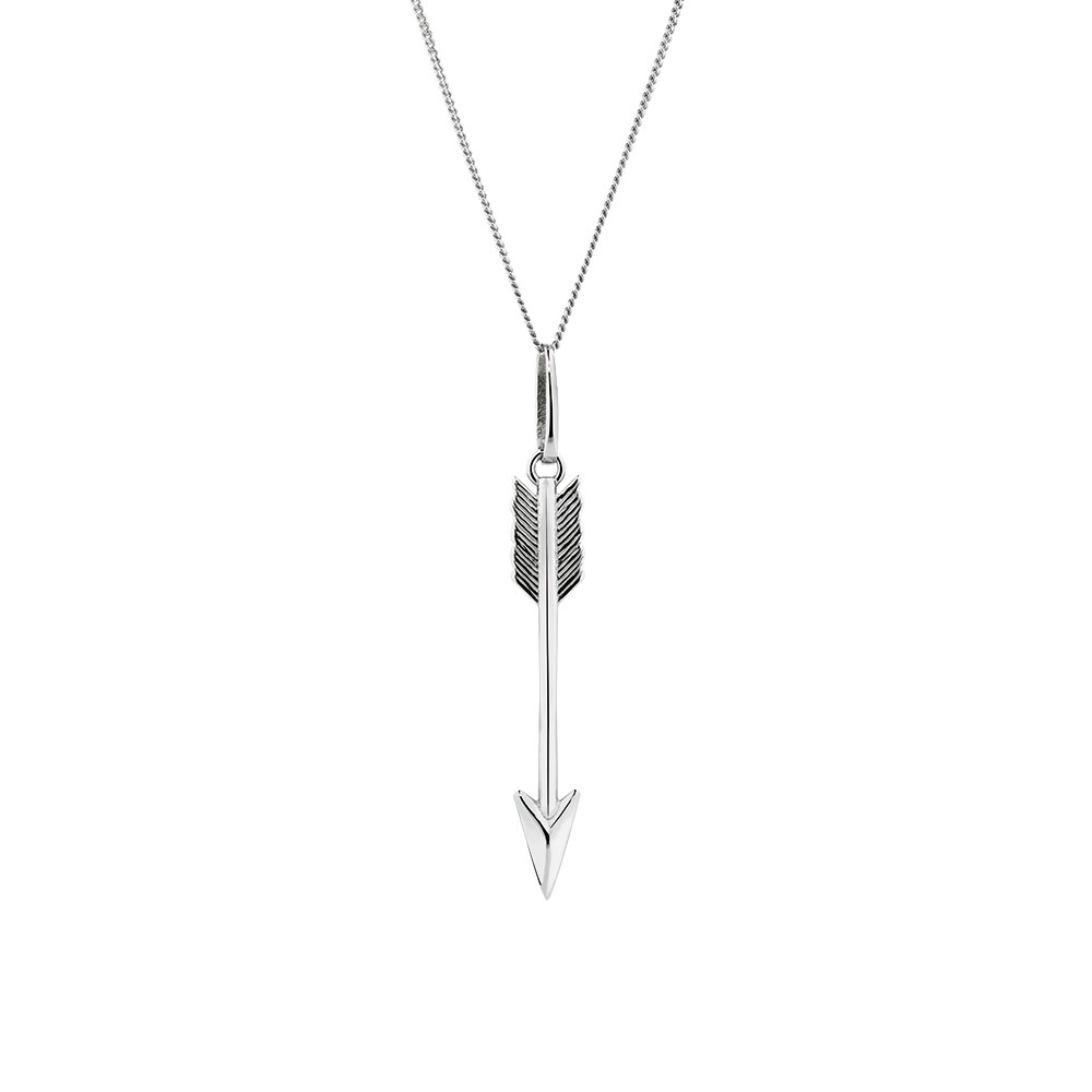 Arrow pendant in sterling silver mozeypictures Gallery