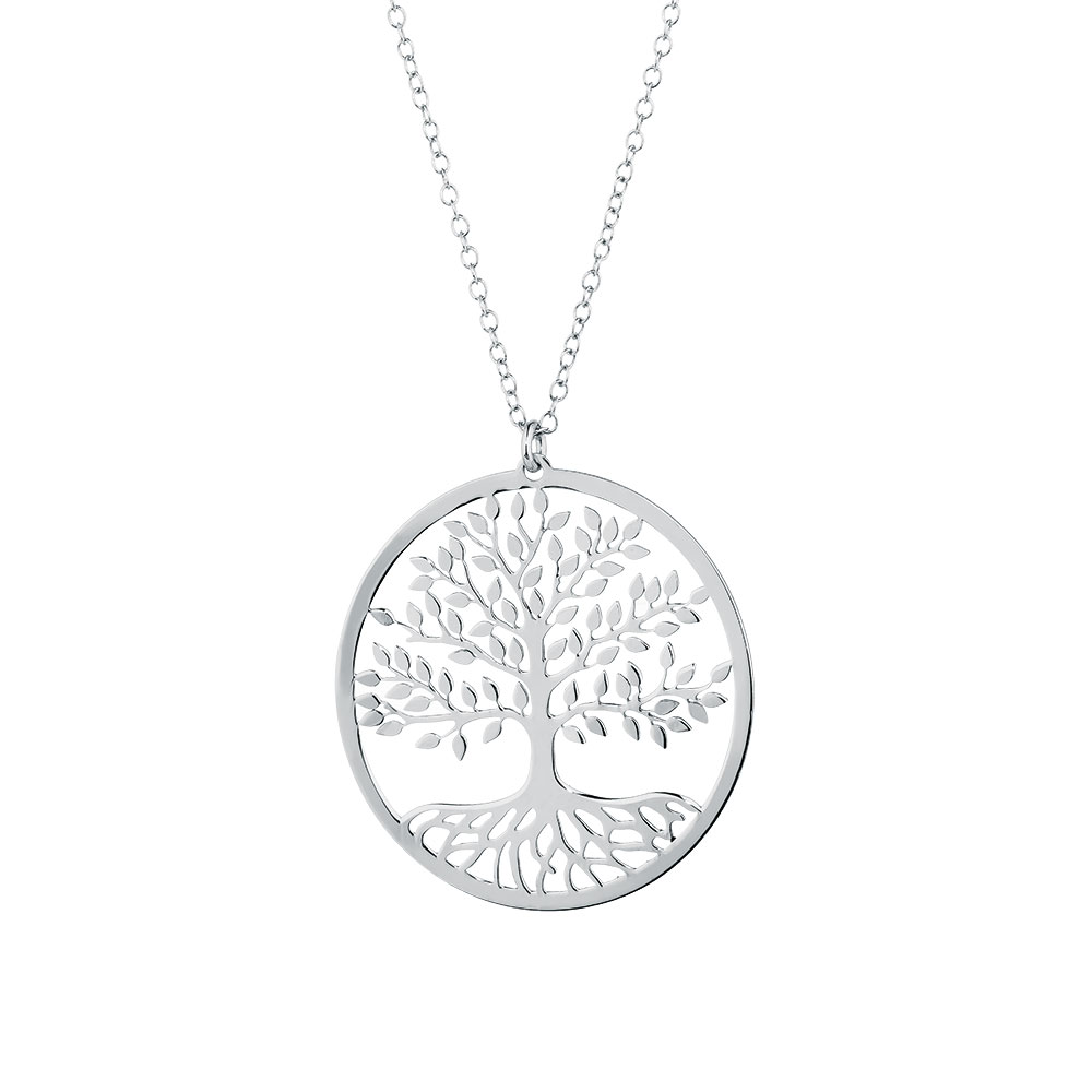 tree of life lockets silver pendant in sterling