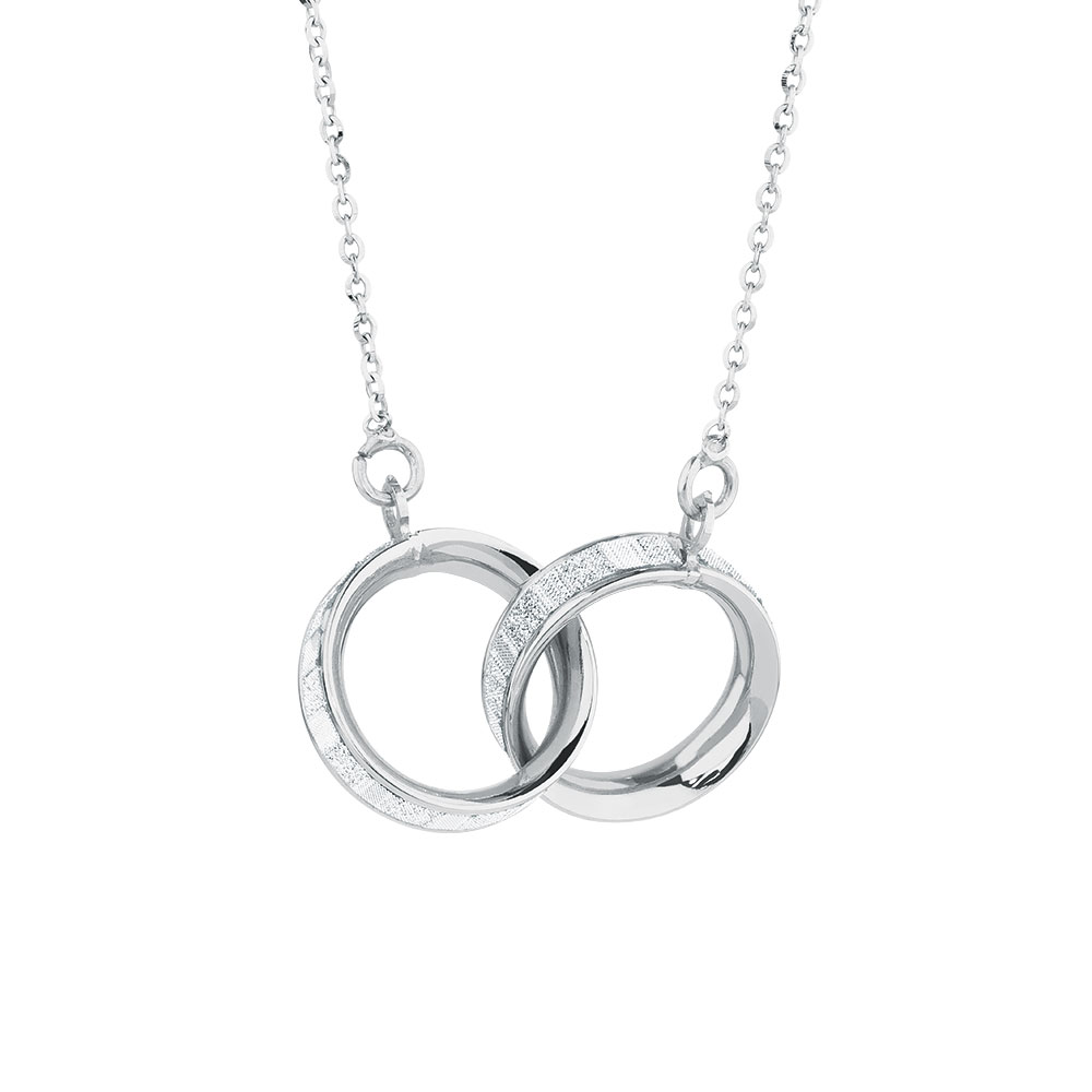 linked diamonds silver ombr with ombre or img jewelry necklace rainbow gold