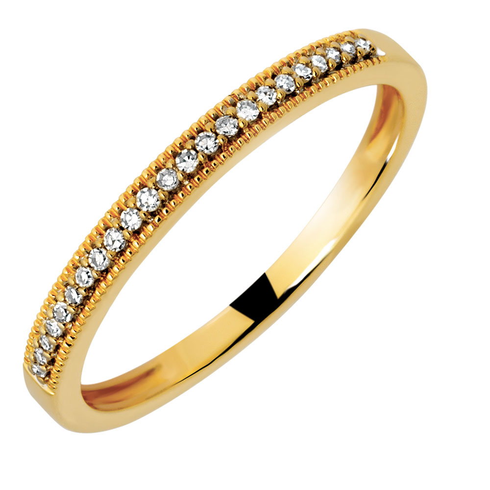 yellow gold wedding rings wedding band with diamonds in 10ct yellow gold 1518
