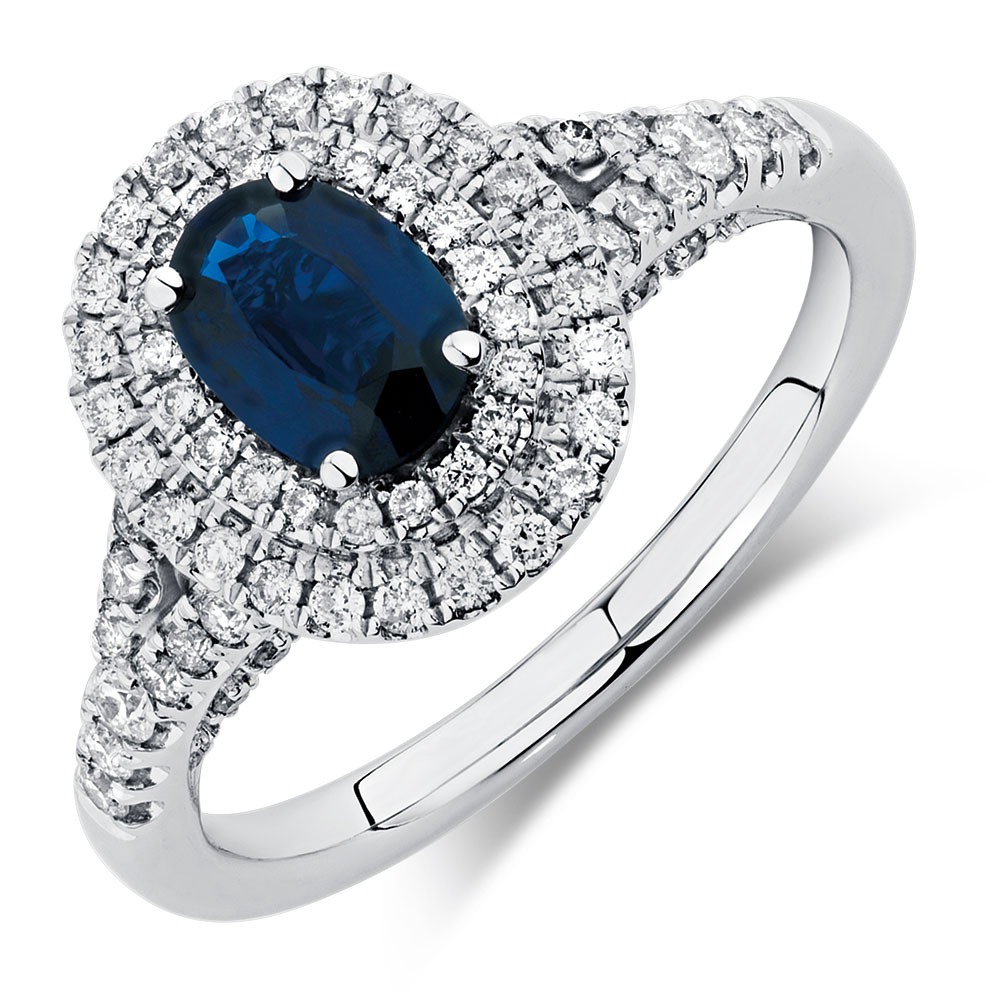 engagement in beautiful sapphire ct ring carat and blue rings sparta diamond