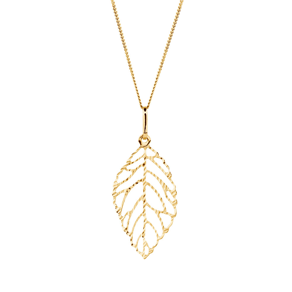 jewellery pendant leaf canada forevermark maple lugaro diamond