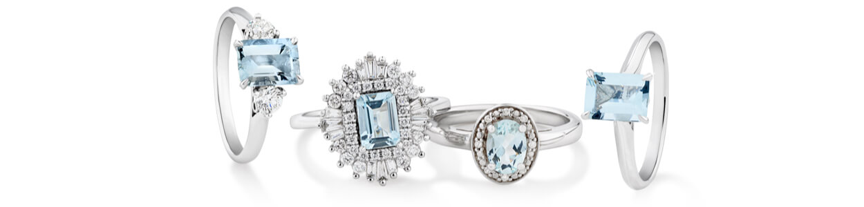 Named for its vivid aqua-blue colour reminiscent of the sea, Aquamarine is the birthstone for March and is said to enhance tranquillity, harmony, and strong personal connections. This gemstone will suit everyone and add extra sparkle to every look, making it the perfect gift for March birthdays.