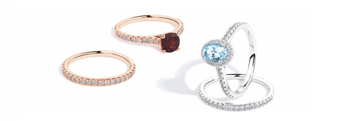 Michael Hill's Gemstone Engagement Rings