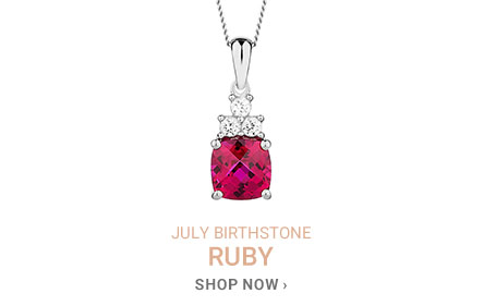 July Birthstone - Ruby